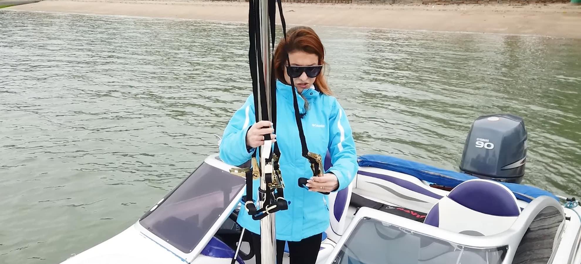 Por que usar o mastro telescópico para wakeboard?