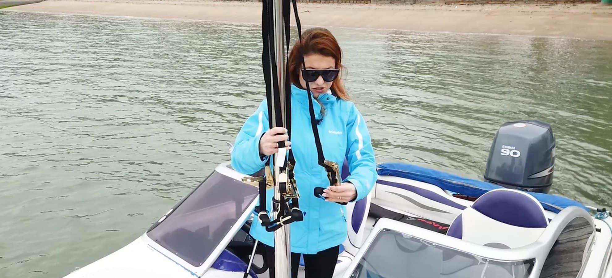 Como aumentar a marola do seu barco para Wakeboard?